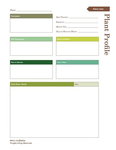 garden planner free printable planting a garden print this free garden planner