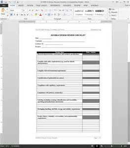 home design checklist template as9100 design review checklist template