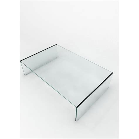 clear glass crystal table ls glass domain crystal clear contemporary glass coffee table