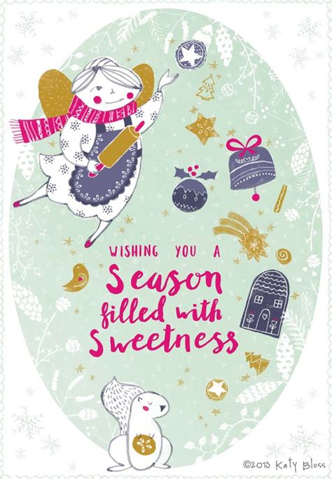 Wishing You A Season Filled With by Design Illustration Archives Katy Bloss