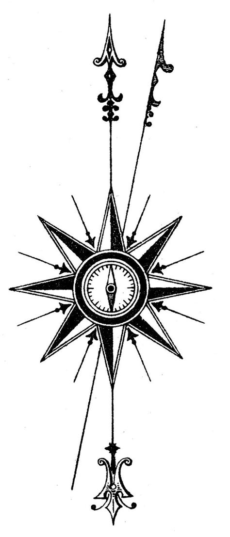 25 best arrow compass tattoo ideas on pinterest compass