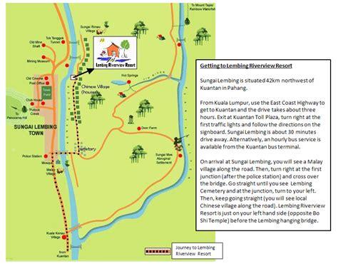le resort kuantan map contact