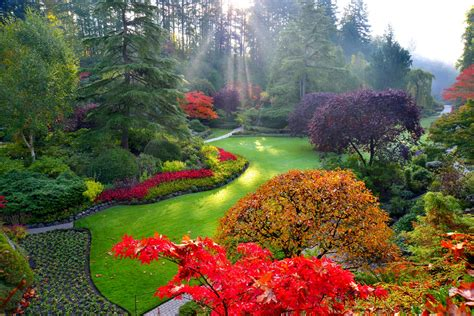 the garden of with the fall of the butchart gardens flower report for october 17 2014