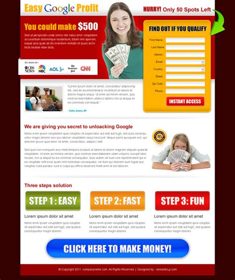 Home Page Design Sles | 5 amazing design ideas for your sales page you must know about