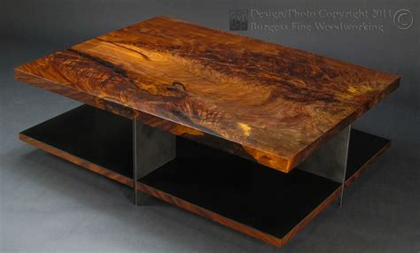 Custom Metal Coffee Tables Custom Claro Walnut Coffee Table With Steel Base By Burgess Woodworking Custommade