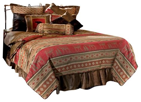 moose bedding sets adirondack and moose cabin comforter bedding set