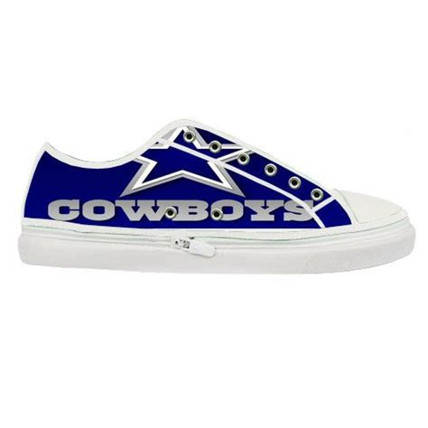 dallas cowboy shoes womens nfl dallas cowboys custom canvas shoes by