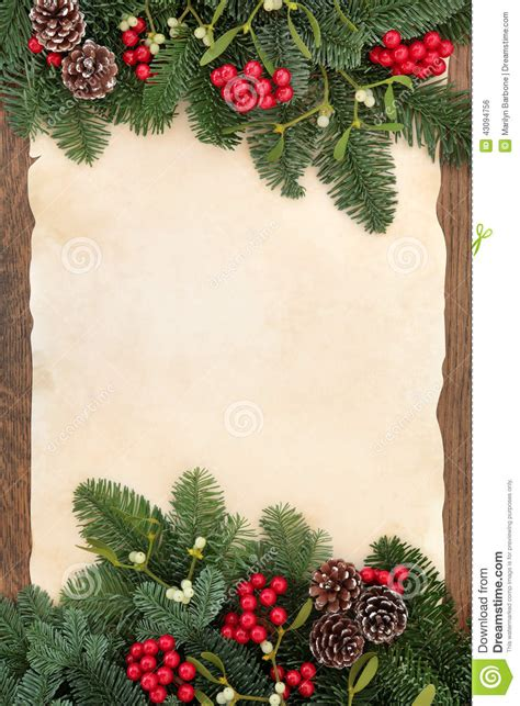 winter abstract border stock photo image  paper gift