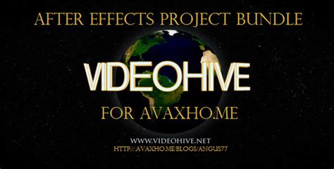 Videohive After Effects Project Footage Mega Bundle videohive after effects projects mega pack avaxhome