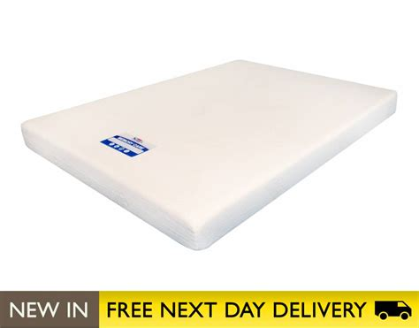 4ft Memory Foam Mattress by Sleepy S Mcvp4 4ft Small Memory Care Mattress