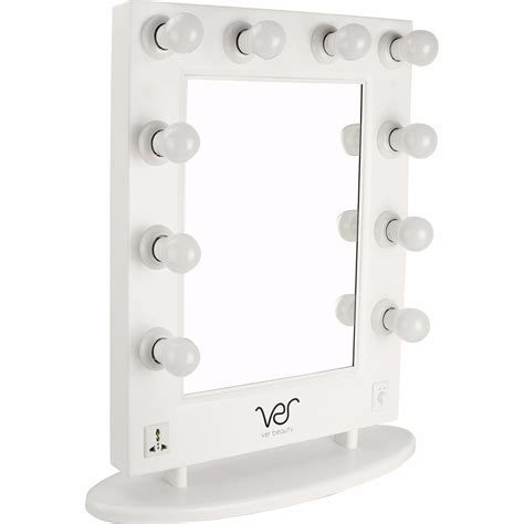 free standing vanity mirror with lights free standing mirror vanity with lights white
