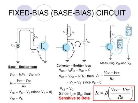 base bias with emitter resistor ppt dmt 121 electronic devices powerpoint presentation