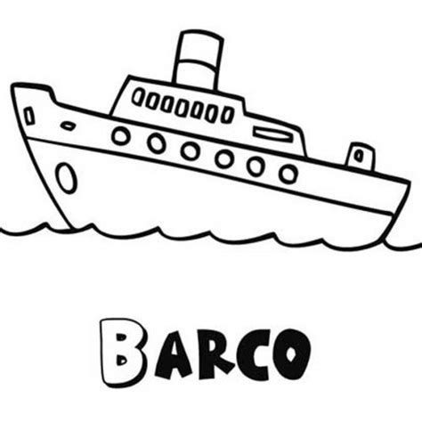 dibujo barco para colorear e imprimir dibujo para imprimir y colorear un barco