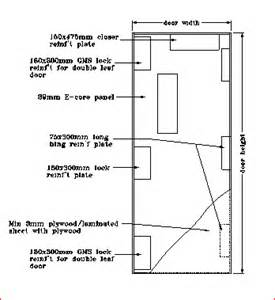 Prehung Interior Door With Casing Firetech 120