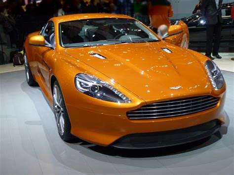 orange aston martin super exotic and concept cars aston martin virage