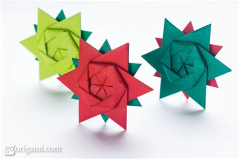 Origami 12 Point - 12 pointed origami by keller go origami