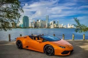 Lamborghini Of Miami Lamborghini Huracan Spyder Hits Miami Why It Can One Up