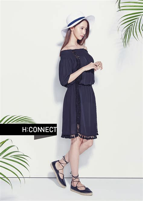 yoona poses for 2016 h connect summer lookbook daily