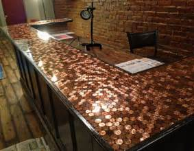 When you want a unique budget friendly countertop for your