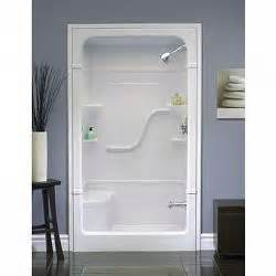 48 inch 1 acrylic shower stall with seat