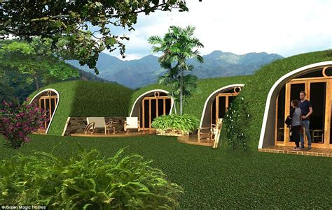 hobbit houses hobbit holes by green magic homes are ready made and come