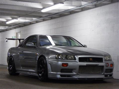 nissan r34 used nissan skyline 2 8 r34 gtr v spec ii 800 bhp for sale
