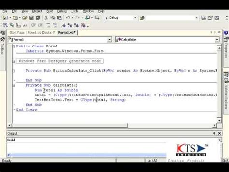 tutorial vb net windows application developing a basic windows application using vb net vb