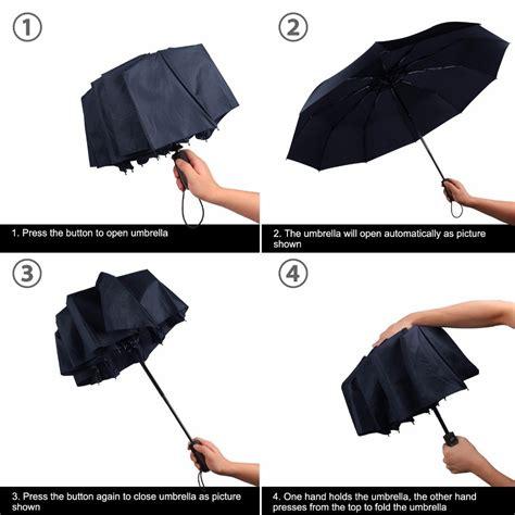 Payung Lipat Automatic Automatis Buka Tutup Anti Uv Kokoh Merk Dolph 2 payung lipat mini payung praktis dengan sistem buka