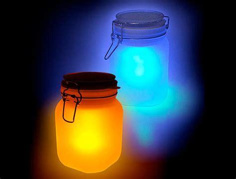 sun solar light eco nightlight moon jar solar powered l inhabitots