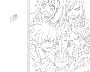 happy from fairy tail outline pictures to pin on pinterest