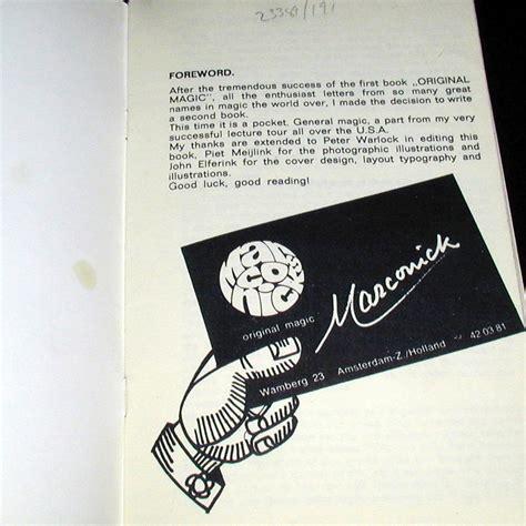 Magic 2 Original marconick original magic vol 2 by marconick martin s