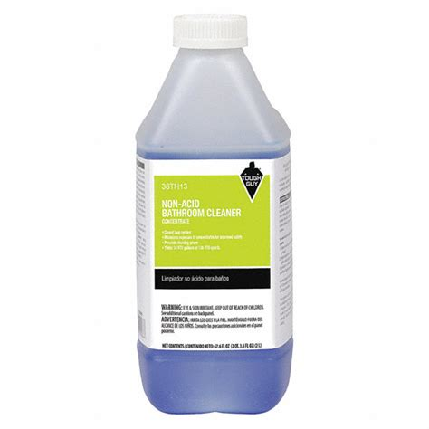 tough guy non acid bathroom cleaner for use with tough