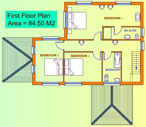3 Bedroom House Uk 3 Bed House Plans Buy House Plans The Uk S