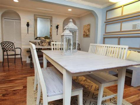 white washed dining room furniture photo page hgtv