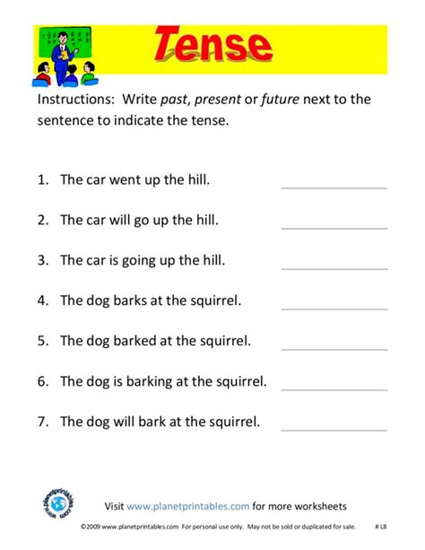 present tense to past tense worksheet worksheets past present and future tense worksheets opossumsoft worksheets and printables