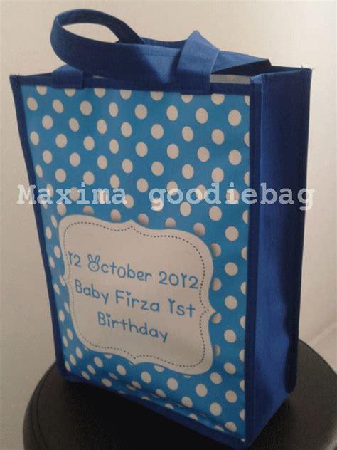 Tas Ultah Anak Goodie Bag Souvenir Ransel Sablon tas souvenir untuk promosi dan kawinan perdana goodie bag