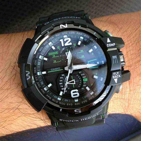 Jam Tangan Pria G Shock Dg 1100 Blackjarum Green 1 jual g shock gw a1100 1a3 baru harga jam tangan terbaru murah lengkap murahgrosir