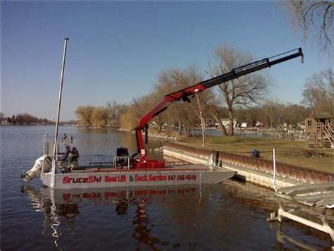 boat dock contractors near me bruceski s marine construction mchenry il 60051 847