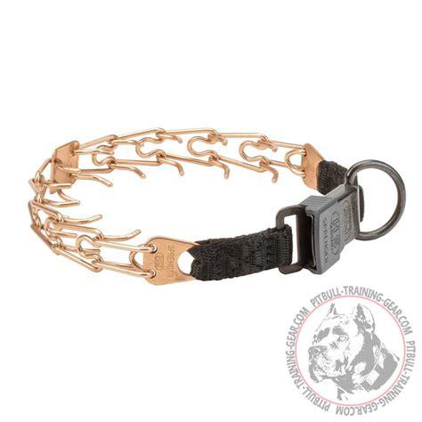 correction collar buy curogan pitbull prong collar lock buckle behavior correction