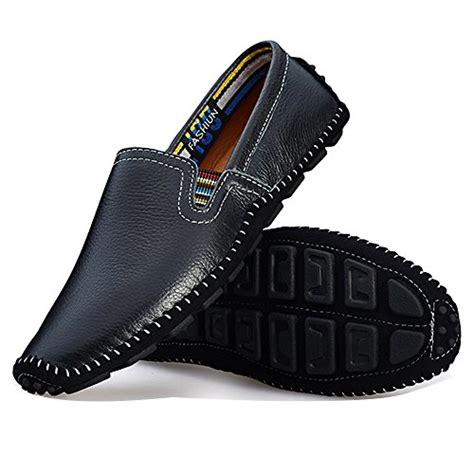Handmade Driving Shoes - blivener s casual handmade driving shoes slip on
