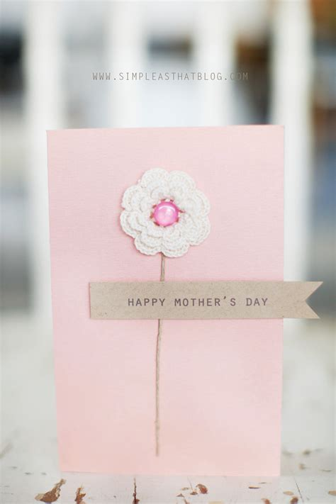 mother day card ideas simple mother s day card ideas