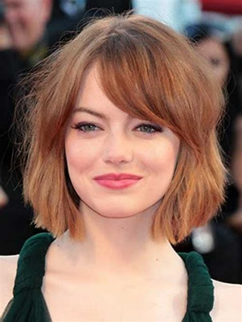 How To Get Emma Stone Short Hair Cutting Steps | 25 short bob haircut with bangs short hairstyles 2017