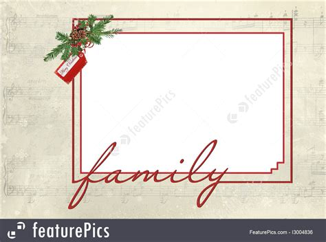 Card Frames Templates Pine Boughs by Templates Frame Stock Illustration I3004836