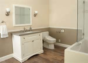 two tone bathroom color ideas two tone walls house