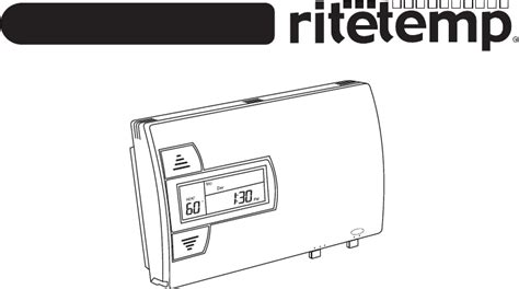 ritetemp thermostat 8022 user guide manualsonline