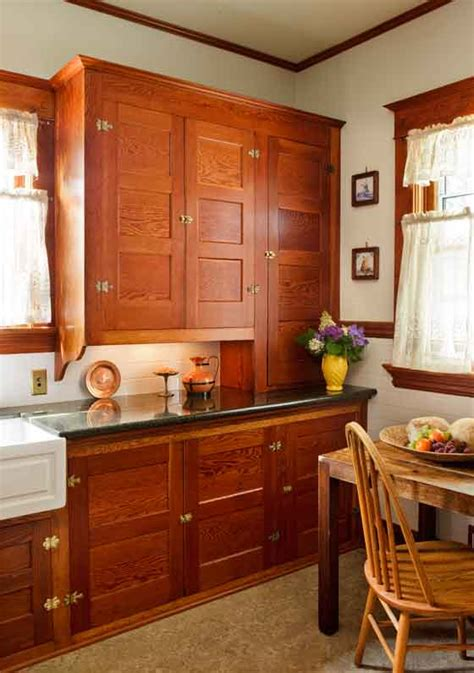 craftsman cabinets kitchen restored cabinets in a renovated craftsman kitchen old
