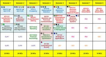 plan of study template nus computing ba cohort 2014 2015
