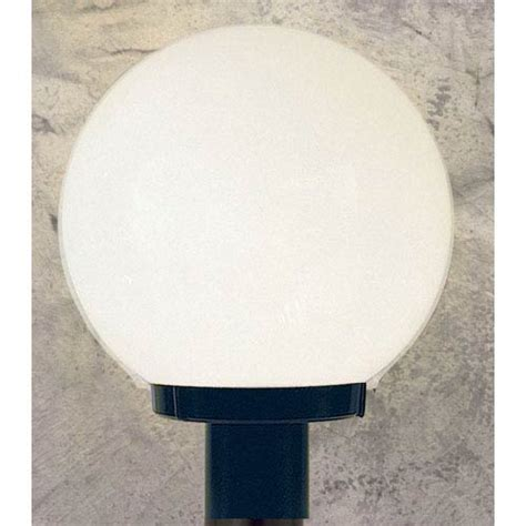Outdoor Globe Post Light Fixtures Outdoor Builders One Light Black Outdoor Post Fixture With White Acrylic Globe Sunset