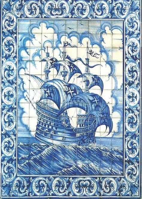 azulejo czech nau portuguesa azulejos portugal sent to czech republic