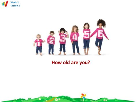 how oldd week 3 lesson 1 how are you